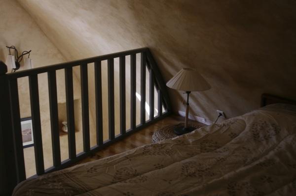 Le lit du haut