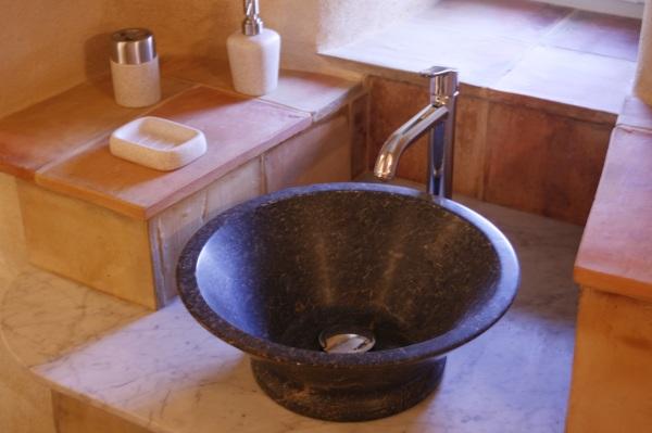 Detail de la salle de bains