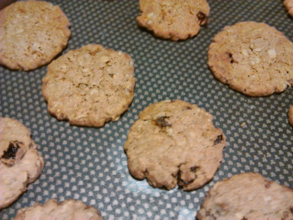 biscuit terminé